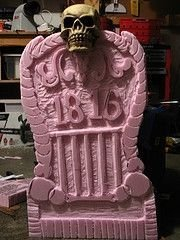 Wonderful Halloween Design Ideas Themed Tomb And Skull Inspire 05