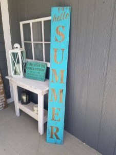 Awesome Summer Decor Ideas With Rustic Farmhouse Style To Try Asap 48