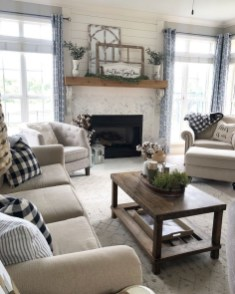 Beautiful Farmhouse Living Room Makeover Decor Ideas To Try Asap 21