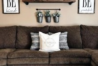 Comfy Farmhouse Living Room Decor Ideas That You Need To See 20