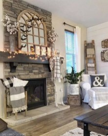 Comfy Farmhouse Living Room Decor Ideas That You Need To See 28