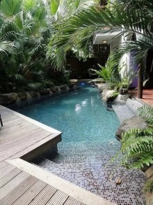 Comfy Pool Decoration Ideas For Your Backyard To Have 20