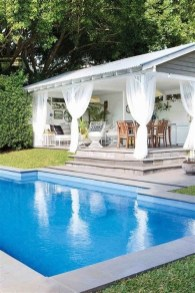 Comfy Pool Decoration Ideas For Your Backyard To Have 22