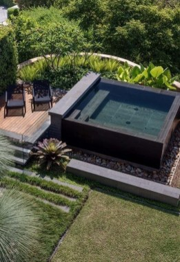 Cozy Backyard Swimming Pools Design Ideas To Copy Right Now 34