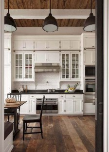 Crative Farmhouse Kitchen Design Ideas For Fun Cooking To Try 28