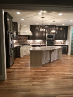 Crative Farmhouse Kitchen Design Ideas For Fun Cooking To Try 48