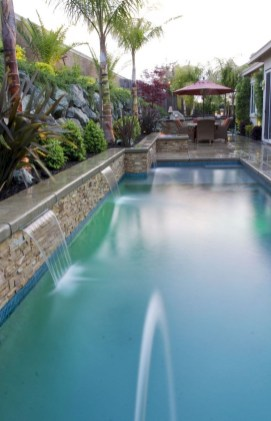 Creative Backyard Swimming Pools Design Ideas For Your Amazing Pools 27