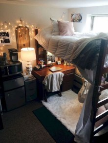 Elegant College Dorm Room Design Ideas That Suitable For You 02