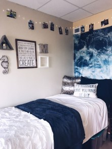 Elegant College Dorm Room Design Ideas That Suitable For You 05