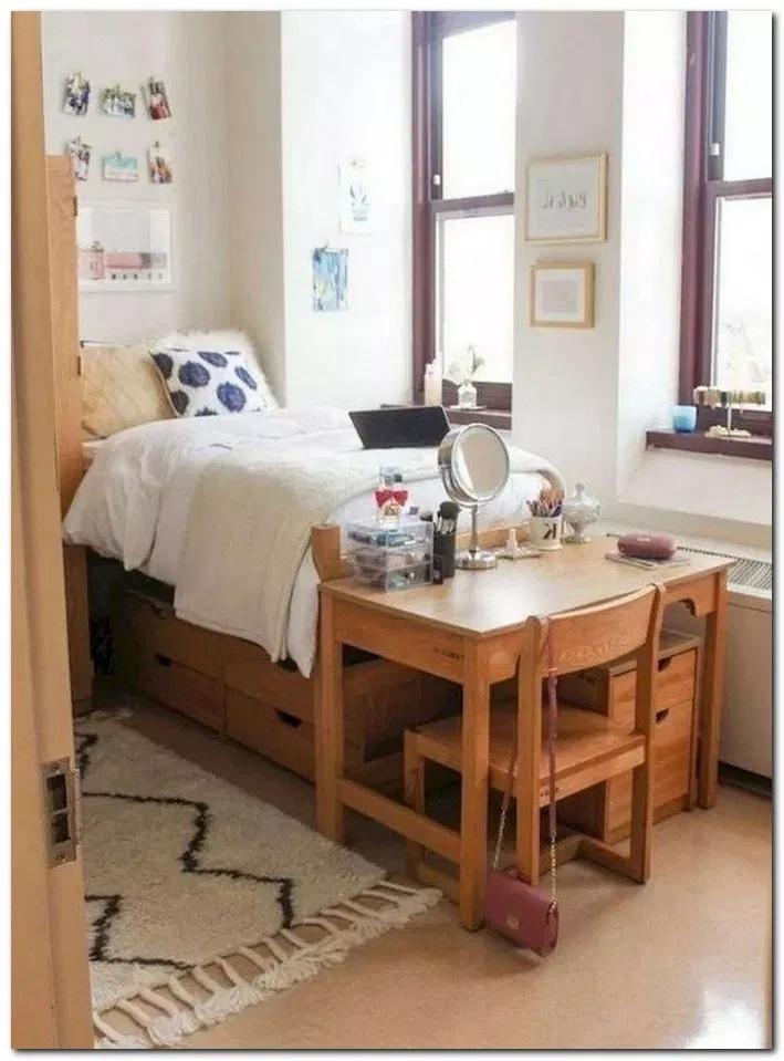 Elegant College Dorm Room Design Ideas That Suitable For You 08