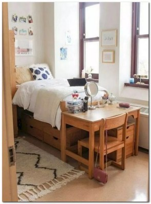 Elegant College Dorm Room Design Ideas That Suitable For You 08