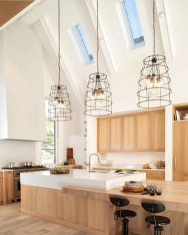Enchanting Lighting Design Ideas For Modern Kitchen To Try Asap 24