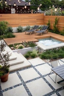 Genius Summer Backyard Landscaping Design Ideas To Inspire Everyone 27