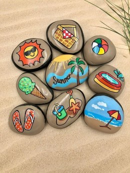 Hottest Diy River Rocks Design Ideas For Summer Garden 06