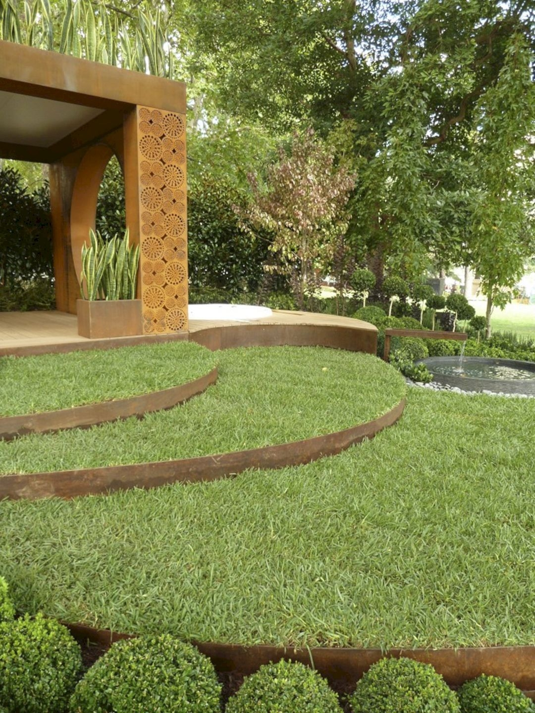 Pretty Lawn Edging Design Ideas For Your Yard To Try 23
