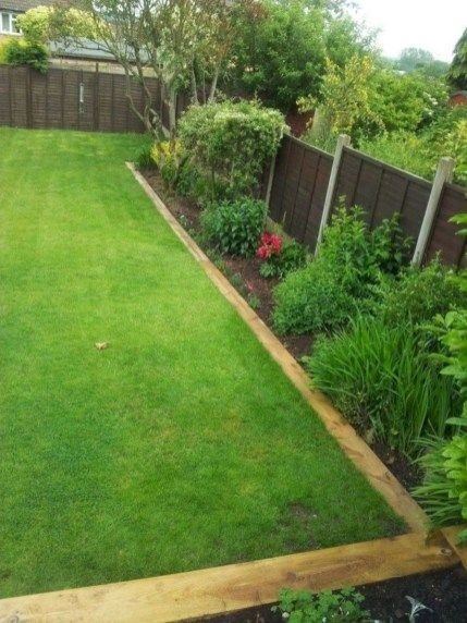 Pretty Lawn Edging Design Ideas For Your Yard To Try 25
