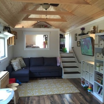 Relaxing Tiny House Makeovers Design Ideas With Farmhouse Style 42
