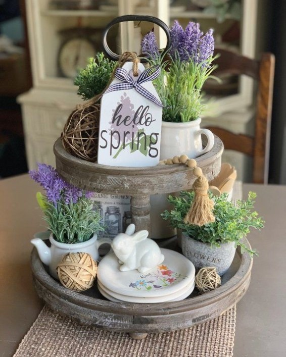 Superb Spring Home Decor Ideas With Farmhouse Style To Try Asap 37