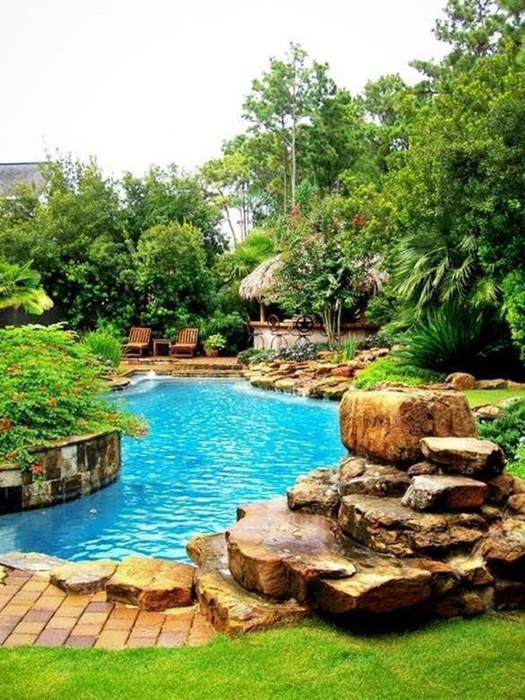 Surprising Tropical Pool Landscaping Design Ideas To Try Soon 24