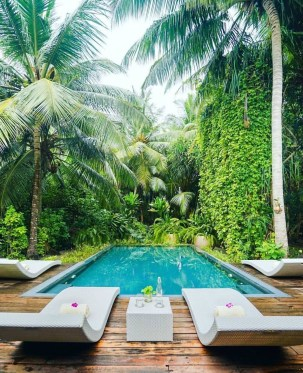 Surprising Tropical Pool Landscaping Design Ideas To Try Soon 26