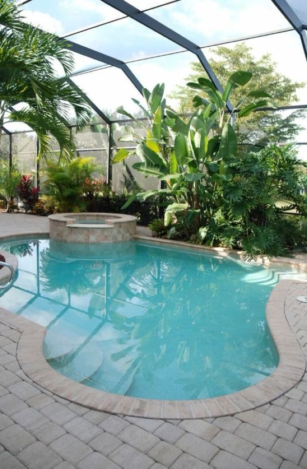 Surprising Tropical Pool Landscaping Design Ideas To Try Soon 37