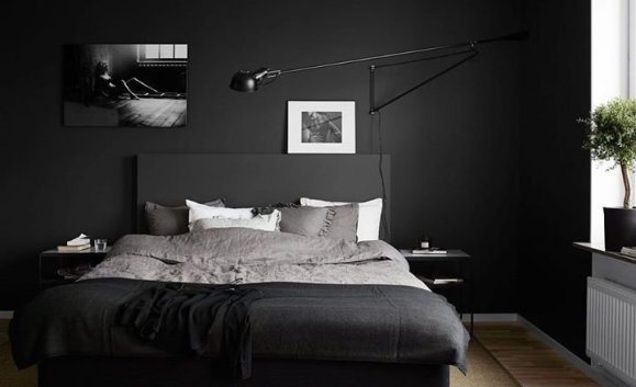 Best Bedroom Design Ideas With Black And White Color Schemes 25