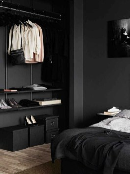 Best Bedroom Design Ideas With Black And White Color Schemes 26