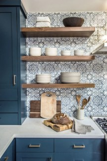 Classy Blue Kitchen Cabinets Design Ideas For Kitchen Looks More Incredible 11