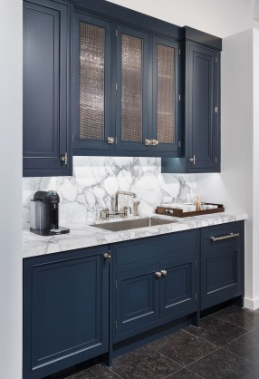 Classy Blue Kitchen Cabinets Design Ideas For Kitchen Looks More Incredible 27