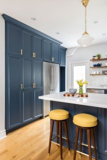 Classy Blue Kitchen Cabinets Design Ideas For Kitchen Looks More Incredible 37
