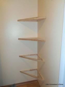 Comfy Corner Floating Shelves Design Ideas To Beautify Your Room Corner 13