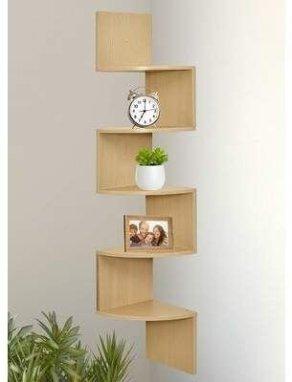 Comfy Corner Floating Shelves Design Ideas To Beautify Your Room Corner 17