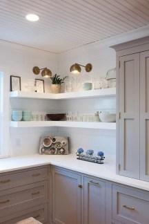 Comfy Corner Floating Shelves Design Ideas To Beautify Your Room Corner 23