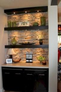 Comfy Corner Floating Shelves Design Ideas To Beautify Your Room Corner 29