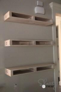 Comfy Corner Floating Shelves Design Ideas To Beautify Your Room Corner 30