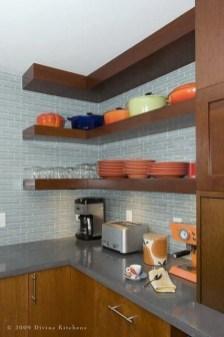 Comfy Corner Floating Shelves Design Ideas To Beautify Your Room Corner 49