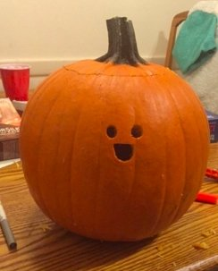 Cozy Pumpkin Carving Design Ideas You Can Do Yourself 26