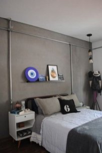 Creative Industrial Bedroom Design Ideas For Unique Bedroom 04