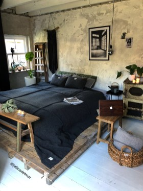 Creative Industrial Bedroom Design Ideas For Unique Bedroom 09