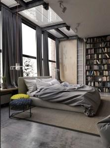 Creative Industrial Bedroom Design Ideas For Unique Bedroom 12