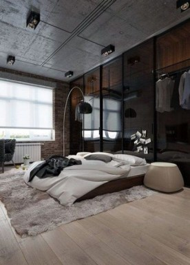 Creative Industrial Bedroom Design Ideas For Unique Bedroom 36