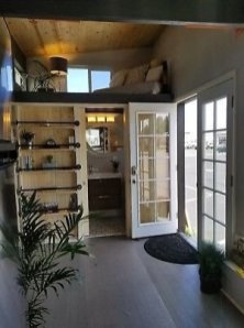 Cute Tiny House Design Ideas On Wheels That You Must Have Now 11