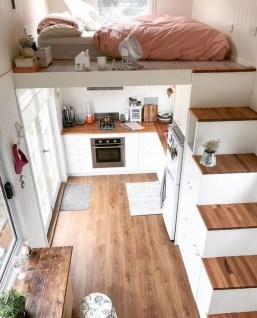 Cute Tiny House Design Ideas On Wheels That You Must Have Now 19