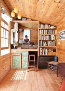 Cute Tiny House Design Ideas On Wheels That You Must Have Now 22