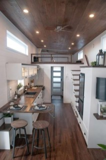 Cute Tiny House Design Ideas On Wheels That You Must Have Now 40