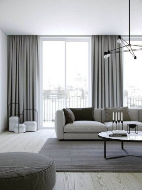 Favorite Living Room Curtain Design Ideas To Enhance Your Living Room 16