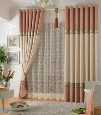 Favorite Living Room Curtain Design Ideas To Enhance Your Living Room 34