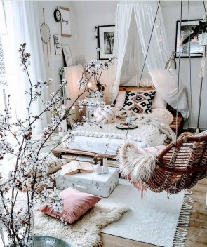 Glamorous Bohemian Bedroom Design Ideas Must You Try Now 18