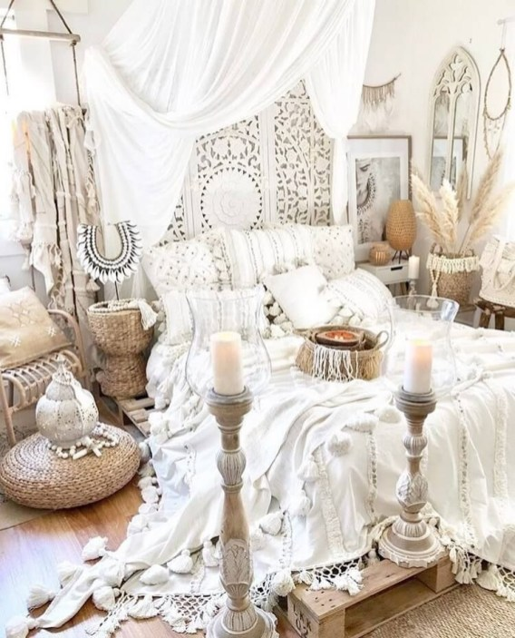 Glamorous Bohemian Bedroom Design Ideas Must You Try Now 38