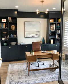 Gorgeous Traditional Small Home Office Design Ideas For You To Have 05